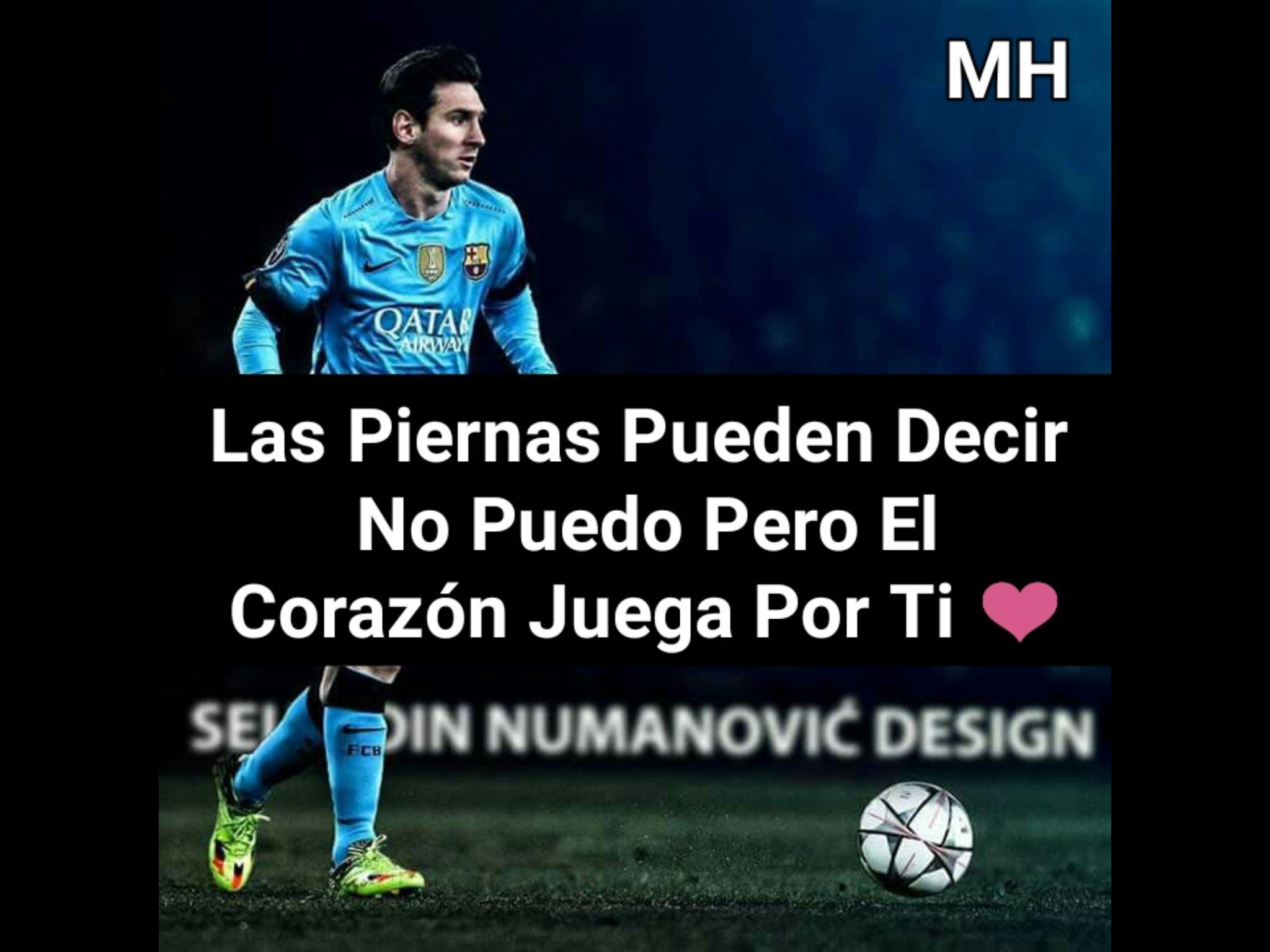 Frases De Amor Futbol Para Dedicar A Mi Novio
