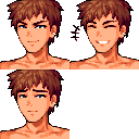 Beach Anime Portraits All Townsfolk At Stardew Valley Nexus Mods And Community Portrait Stardew Valley Games Images