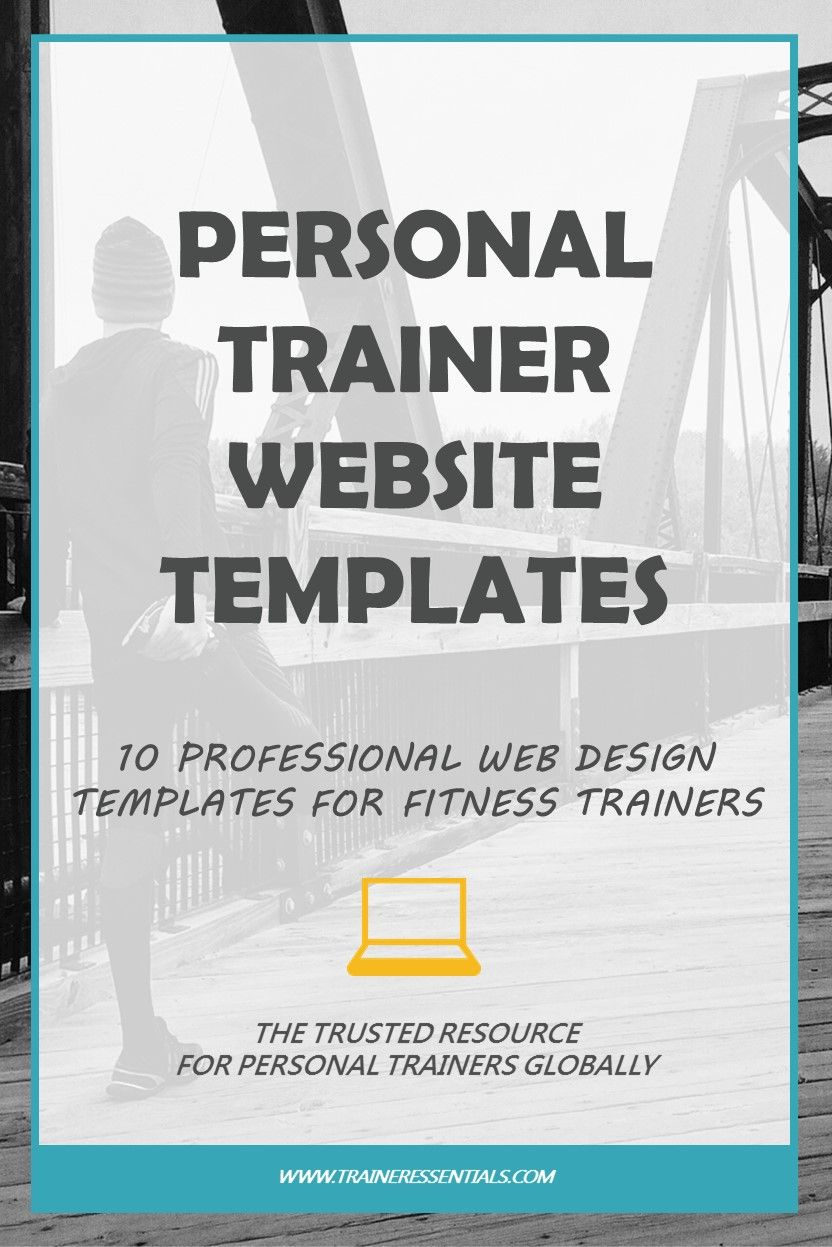 these personal trainer website templates will help you create a