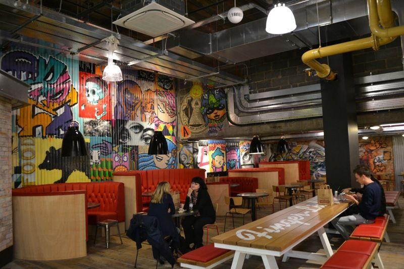 Indoor Street Food Trinity Kitchen Opens At Trinity Leeds Food Hall Street Food Food Court Design