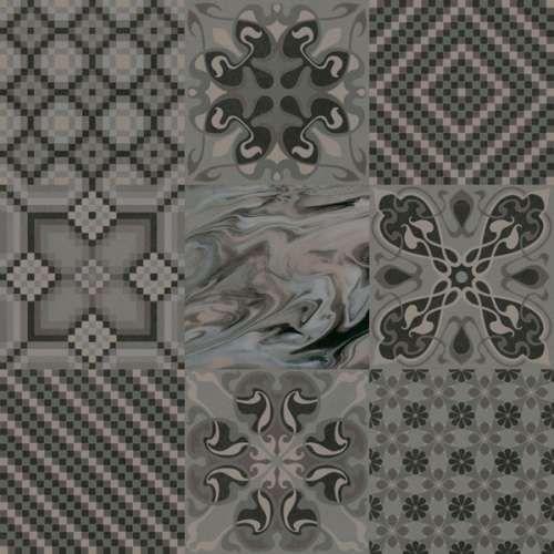 1900 Tassel Crema Patchwork Carrelage Aspect Carreaux De Ciment