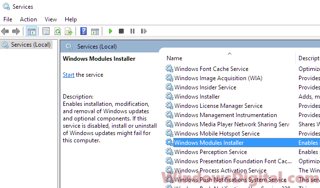 Windows Modules Installer Worker High CPU Usage | Windows 10
