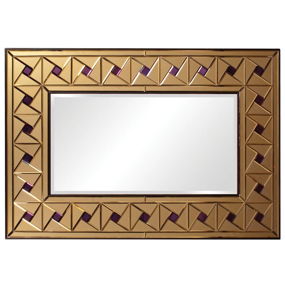 Howard Elliott Armand Copper Mirror