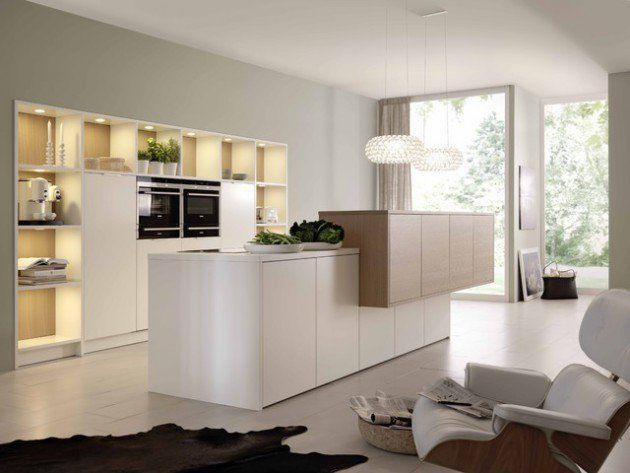 17 Beautiful Open Concept Kitchen Designs In Modern Style ...