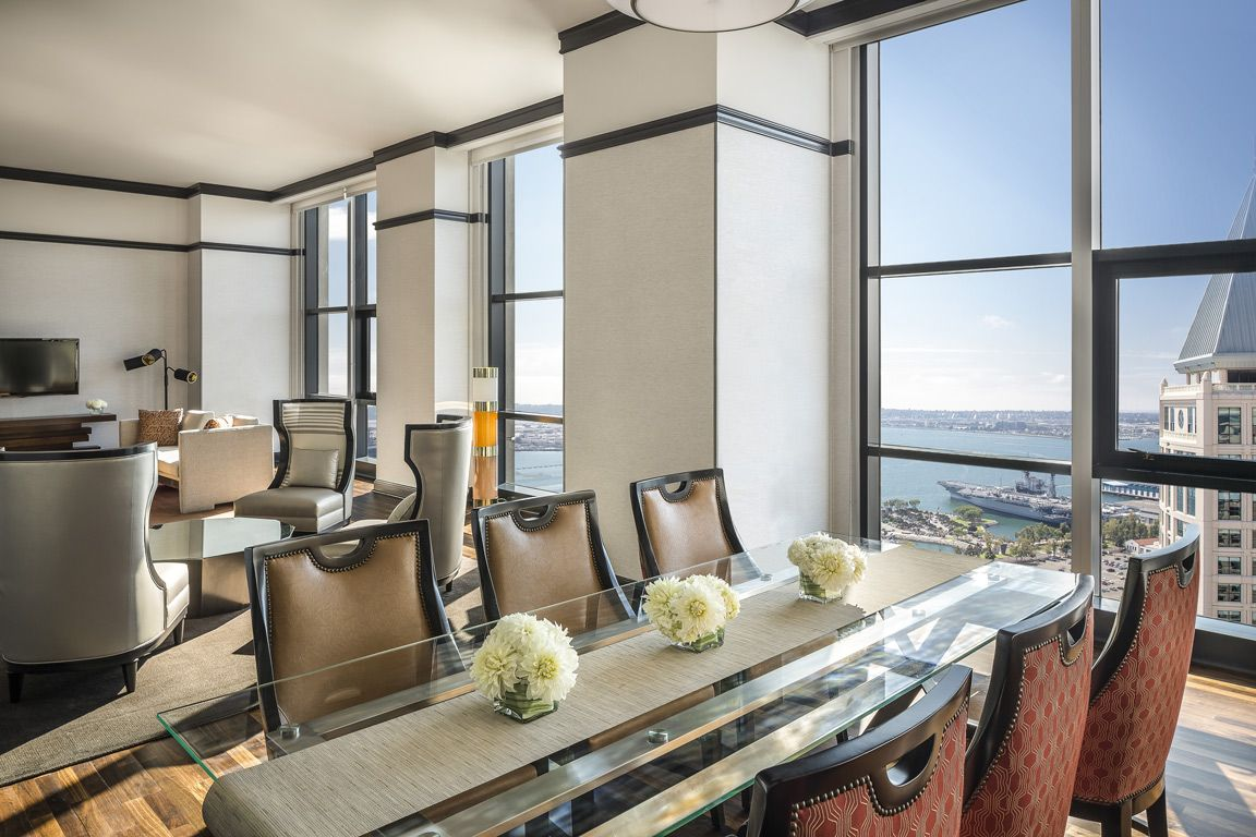 presidential suite dining area 2015 renovation pinterest manchester