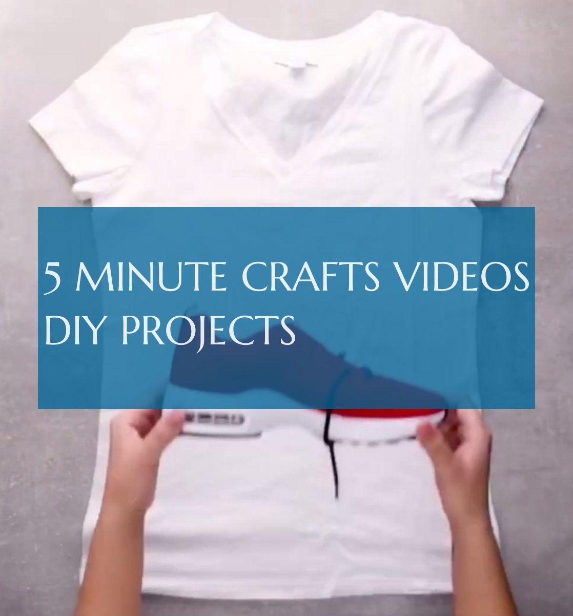 5 minuten bastelvideos diy projekte - #minute #crafts #videos #projects #5minutecraftsvideos