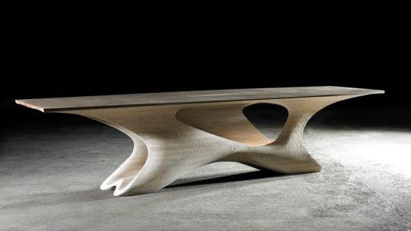 Amazing Futuristic Dining Table Design Mebel Zhurnalnye