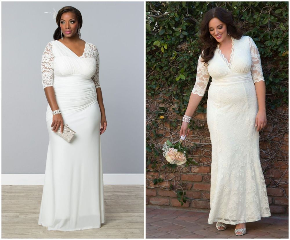 Wedding dresses for curvy brides  Stylish Wedding Dresses for Curvy Brides  Wedding dress Classic