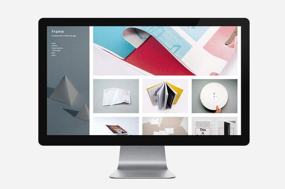Frame by Themezilla on Creative Market