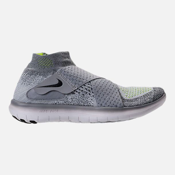 0d639e6b469eb 2018 Purchase WOMENS NIKE FREE RN MOTION FLYKNIT 2017 RUNNING SHOES 880846  002 Wolf Grey Black