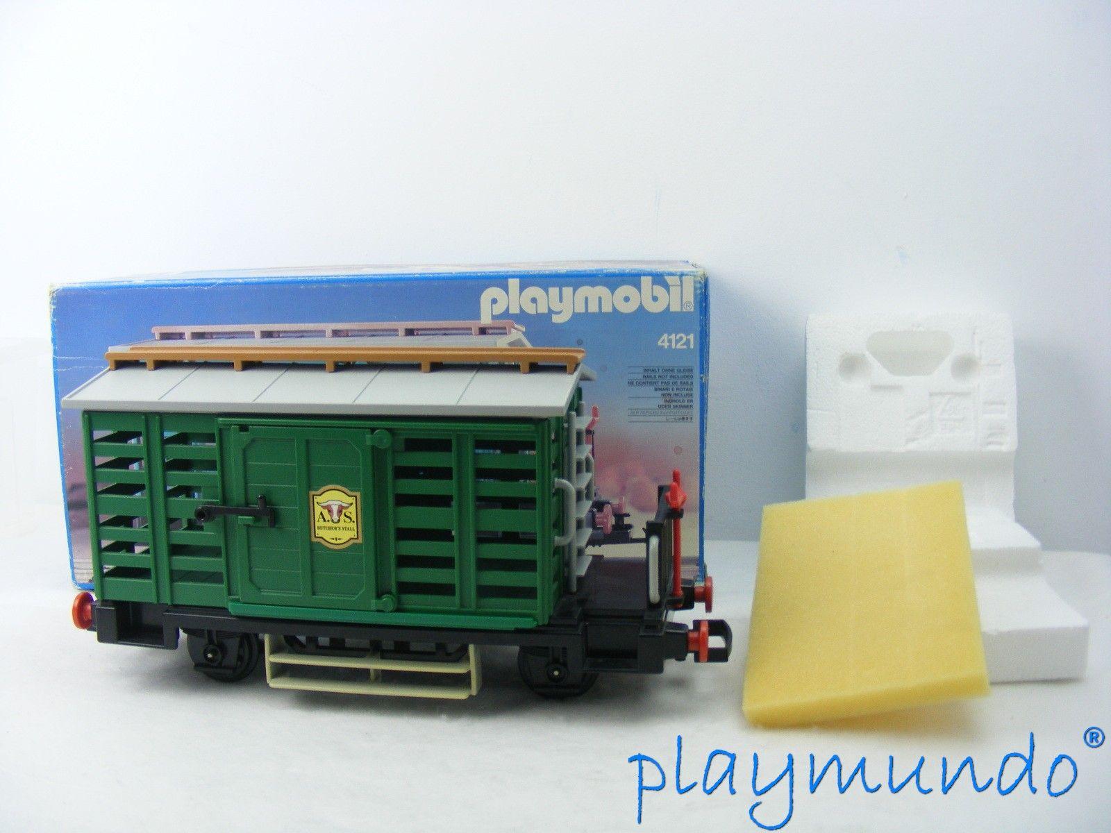 PLAYMOBIL 4121 VAGON VERDE DEL OESTE (AÑO 1988 -1996) http://www.playmundo.es/playmobil-4121-vagon-verde-del-oeste-ano-1988--1996-9417-p.asp