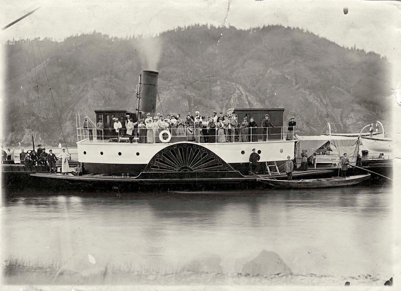 картинки старинных пароходов