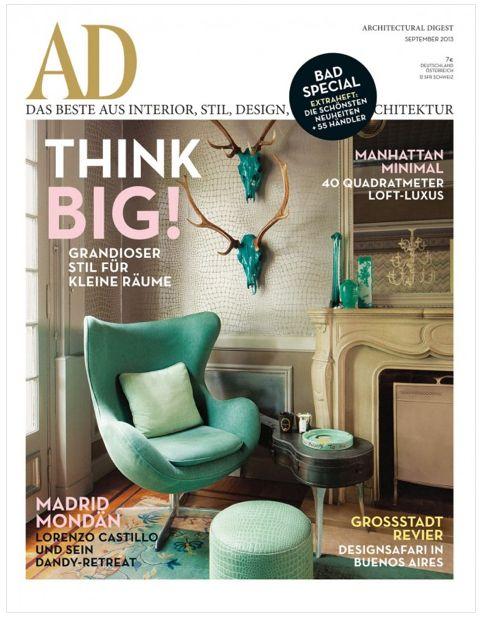 Ad Magazine Revista Diseno De Interiores Interiores Diseno De