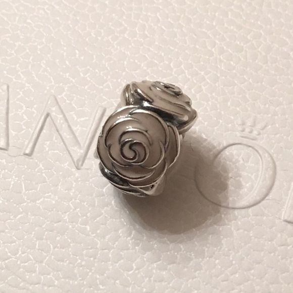 AUTHENTIC PANDORA ROSE GARDEN BEAD Authentic Pandora. New never used in flawless condition. 925 silver with pink enamel. NO TRADE offers please. FIRM PRICING! Bundle discount offered on Pandora purchases of $100.00 or more. Thanks for visiting my closet  Pandora Jewelry Bracelets
