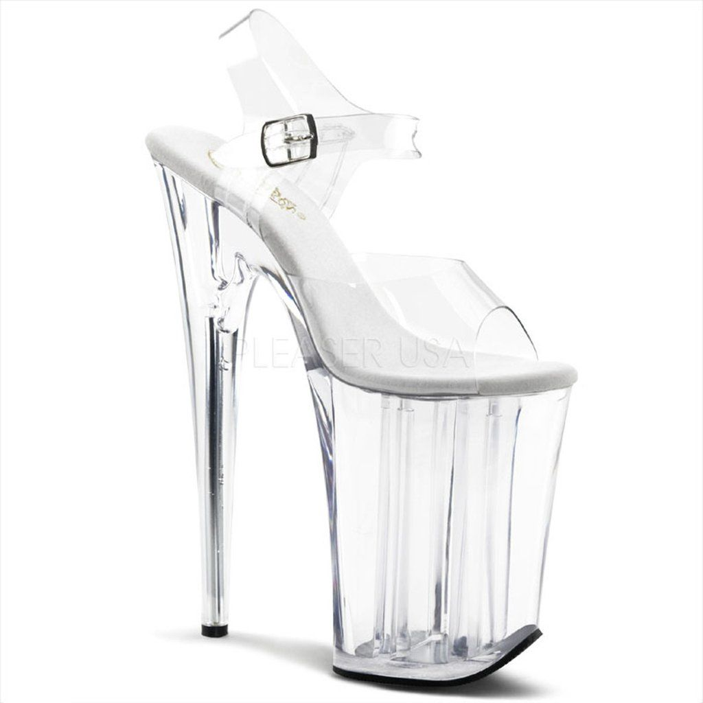 INFINITY-908 Pleaser Sexy Shoes 9 Inch Heel, 5 1/4 Inch Platforms Ankle Strap…