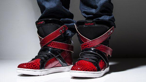 9d43b1c5c02b8 Heyday Footwear - Saints Row Super Shift / Morningstar Red Python ...
