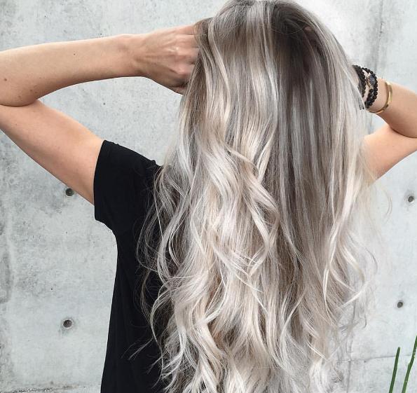 48++ Grey balayage curly hair ideas in 2021