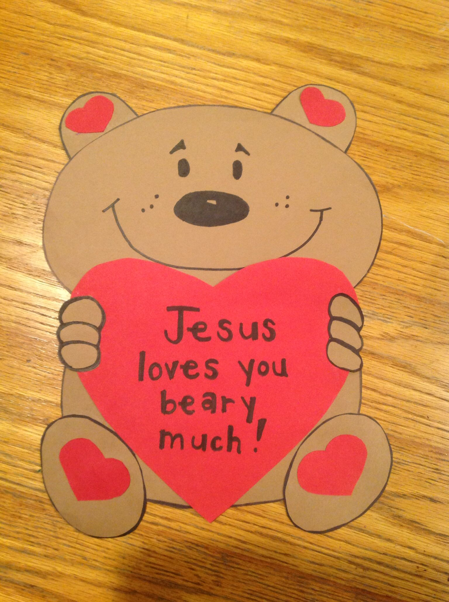 Valentine Bible Craft By Let