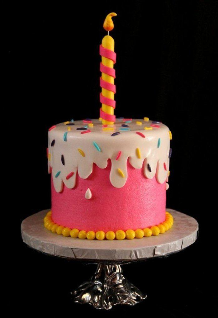 Decoration gateau fille 6 ans - Decor gateau anniversaire fille ...