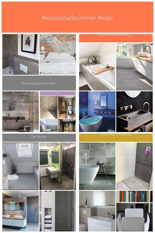 Kleinesbadezimmer Kleinesbad Badezimmer Betonoptik Einrichten Fliesen Gre Machst Mozaik Poster Schn In 2020 Mit Bildern Badewanne Fliesen Betonoptik Fliesen