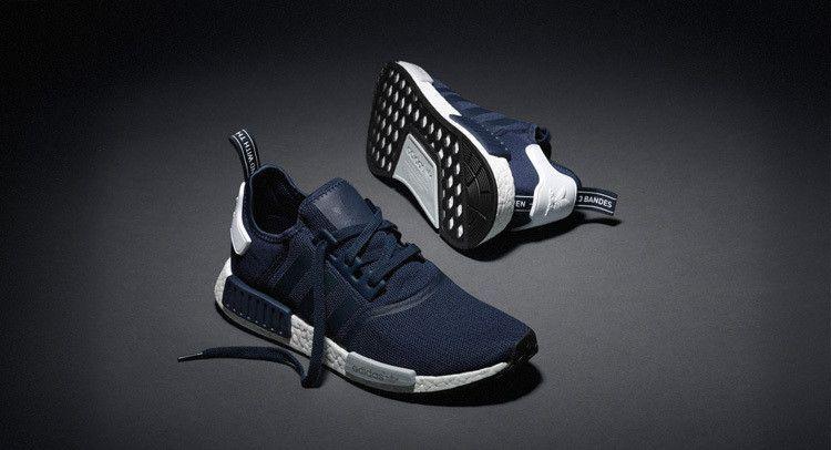 Adidas originals NMD R1 Men running trainers sneakers Blue