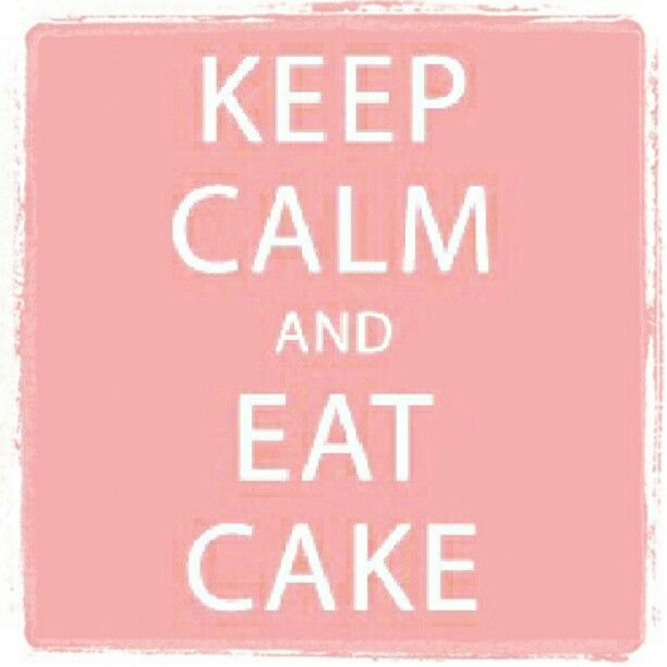 Keep calm... #cakesandbakes
