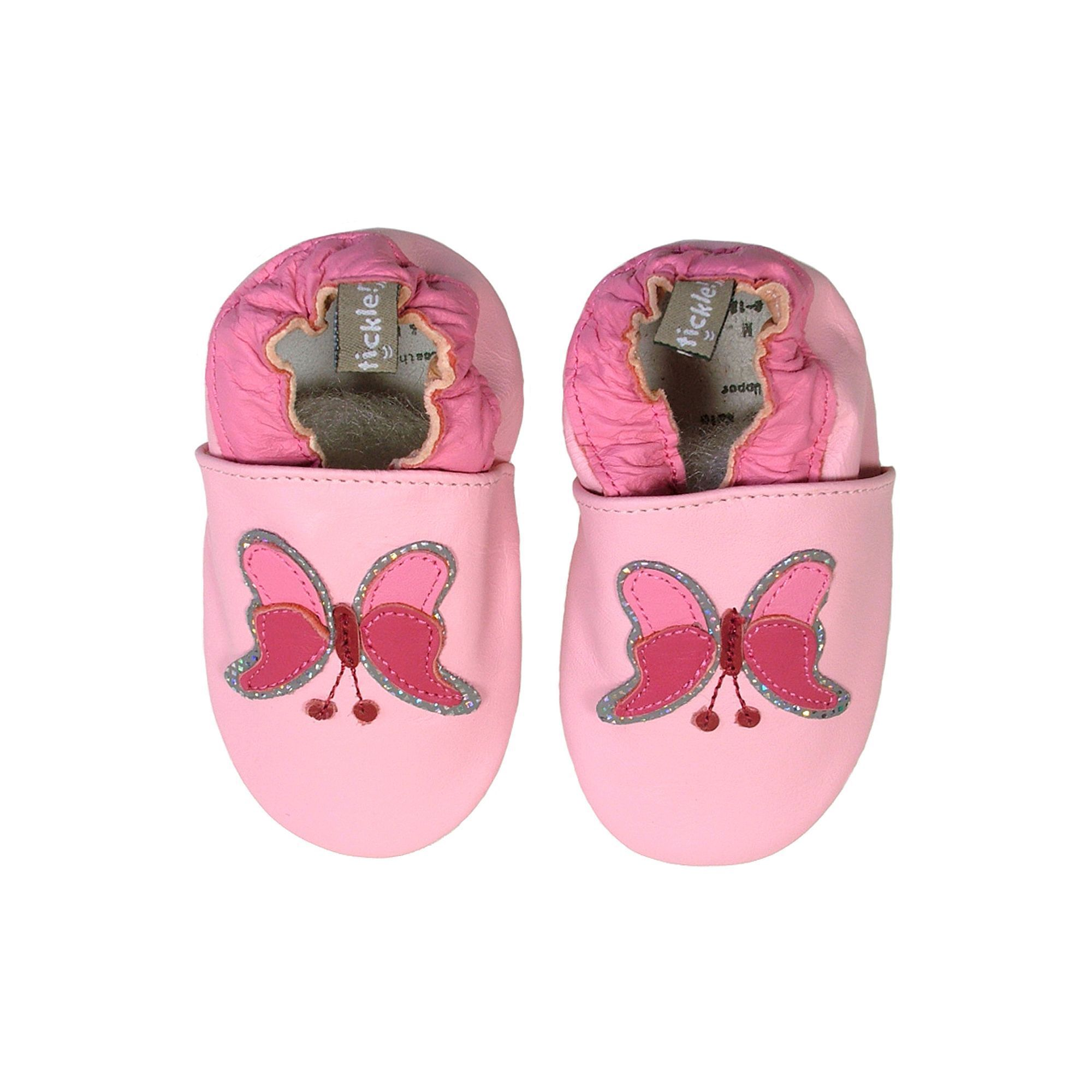Tommy Tickle Butterfly Shoes Baby Infant Girl s Size 18 24MONTH