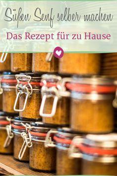 Süßer Senf: Das Rezept zum Selbermachen