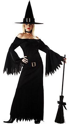 Adult Elegant Witch Costume  sc 1 st  Pinterest & Adult Elegant Witch Costume | Costumes | Pinterest | Witch costumes ...