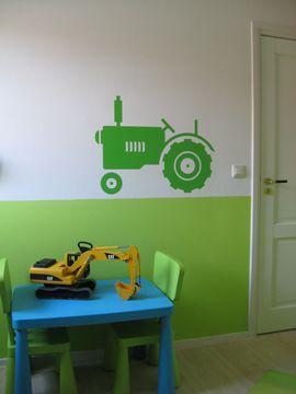Muurstickers Tractor 2016