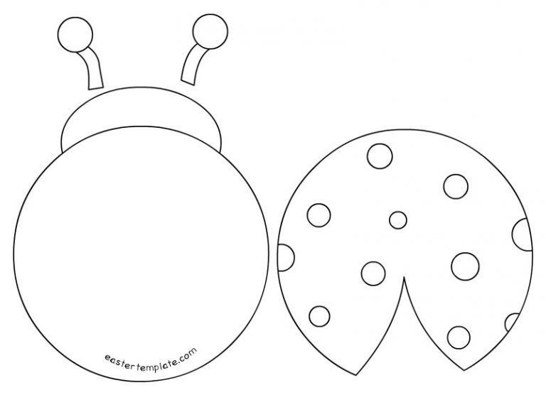 printable ladybug template quiet book templates ladybug