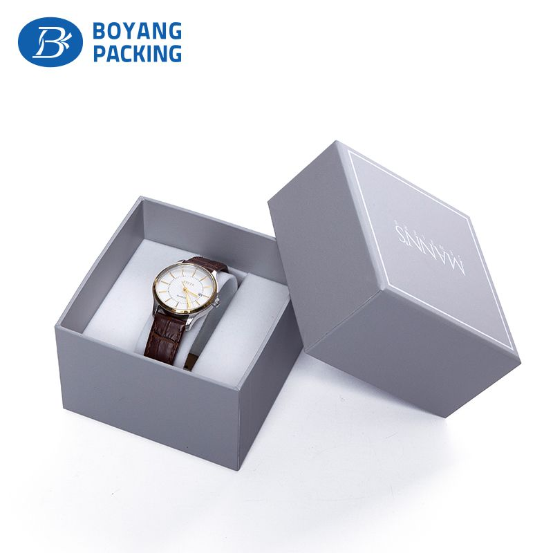 Professional custom paper watch box factory of course can also