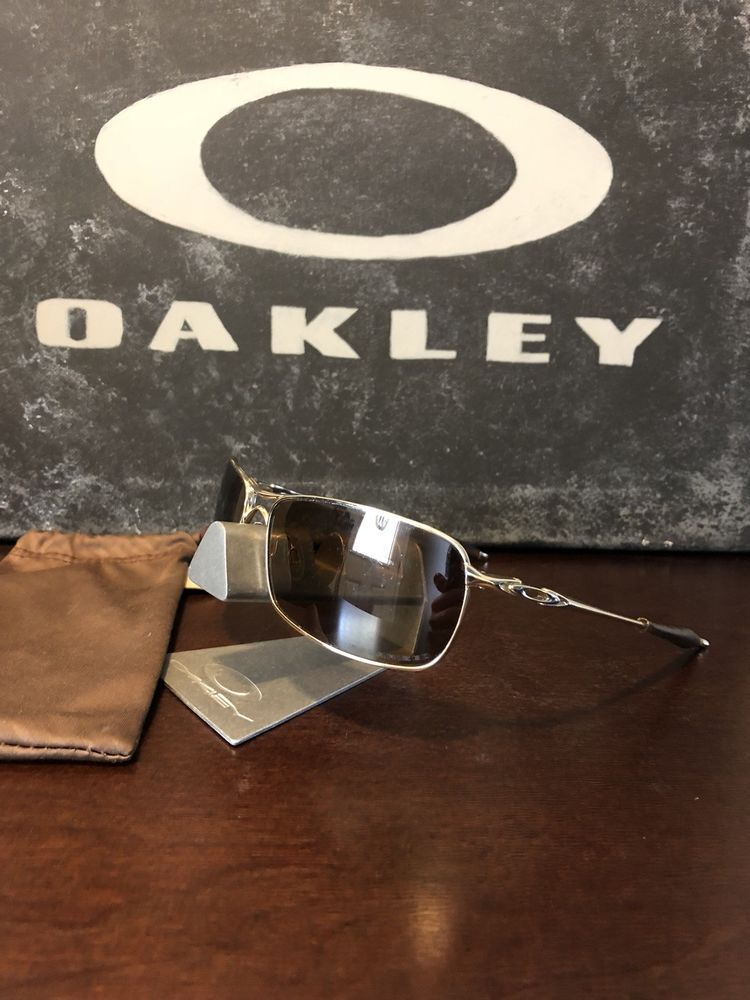 c7bd8a5919 Oakley CROSSHAIR 2.0 Polished Gold Bronze Polarized Sunglasses Aviator  OO4044-02