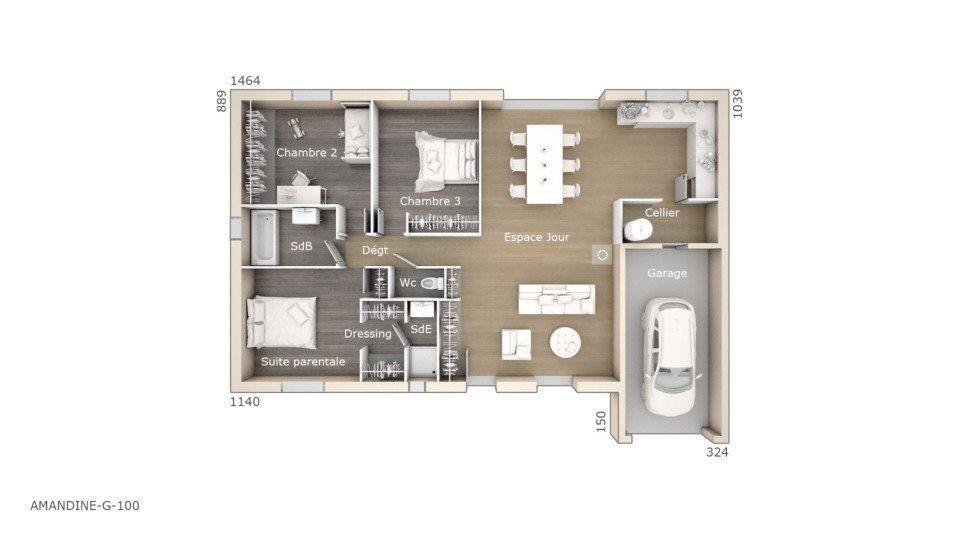 Découvrez gratuitement les plans d\u0027une maison à construire