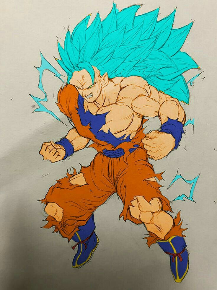 goku ssb3 drawings idea pinterest goku dragon ball and dragon