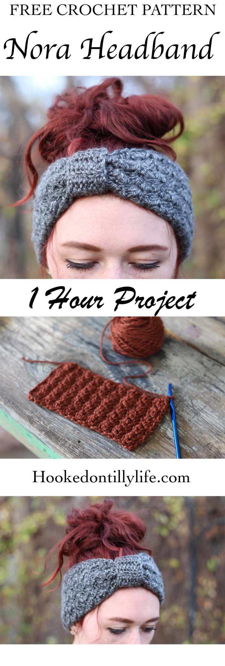 The Nora Headband - Free Crochet Pattern — Hooked On Tilly