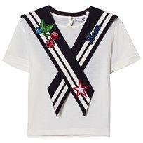 Dolce & Gabbana White Sailor Tee W0111