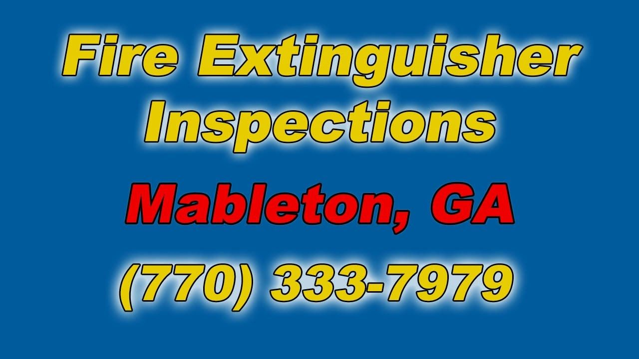 Best source fire extinguisher inspections near me mableton