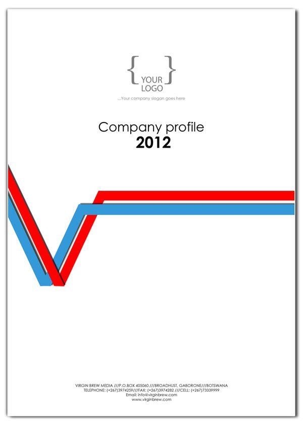 COMPANY PROFILE cover design templates on Behance SAPICS 2014 - company profile template word format