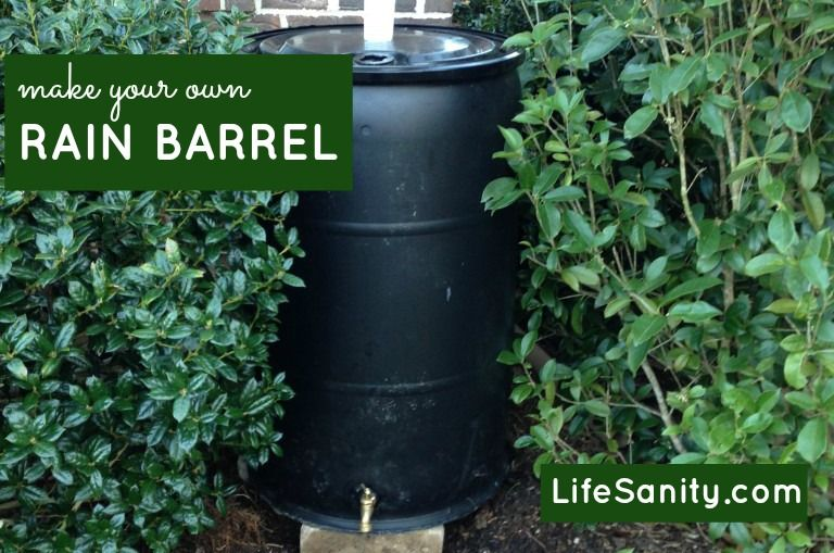How to make your own rain barrel preparedness for How to make your own rain barrel system