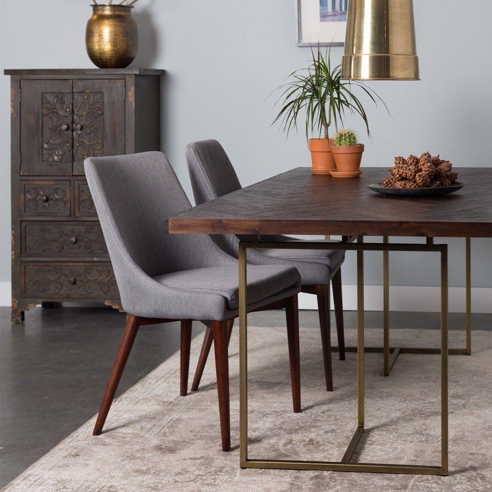 Superb Dutchbone+Class+Dining+Table+ +Rectangular+acacia+wood+veneer Amazing Pictures