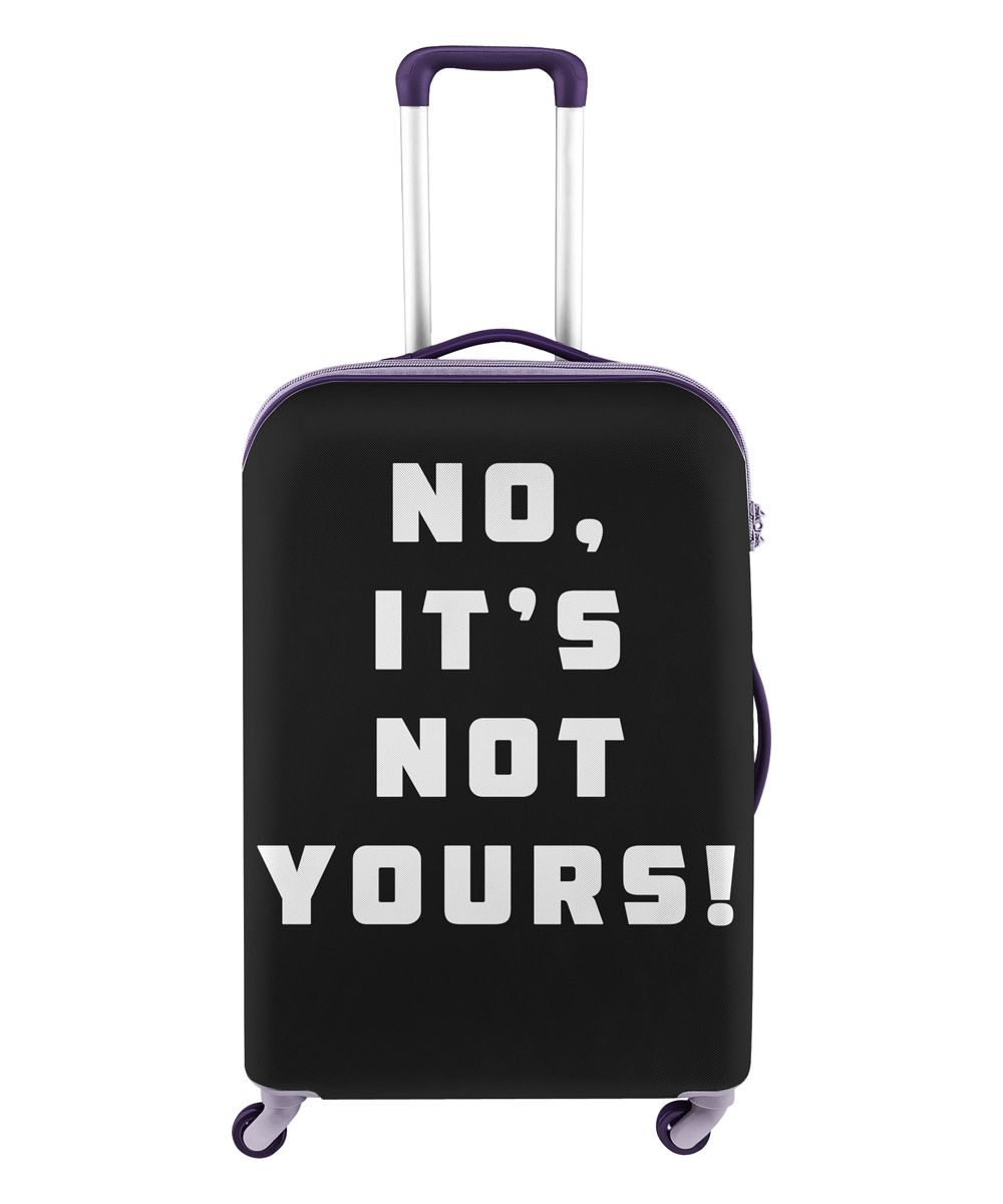 db53c8b8a8ee Not Yours' Luggage Cover | Products | Luggage cover, Fabric covered ...