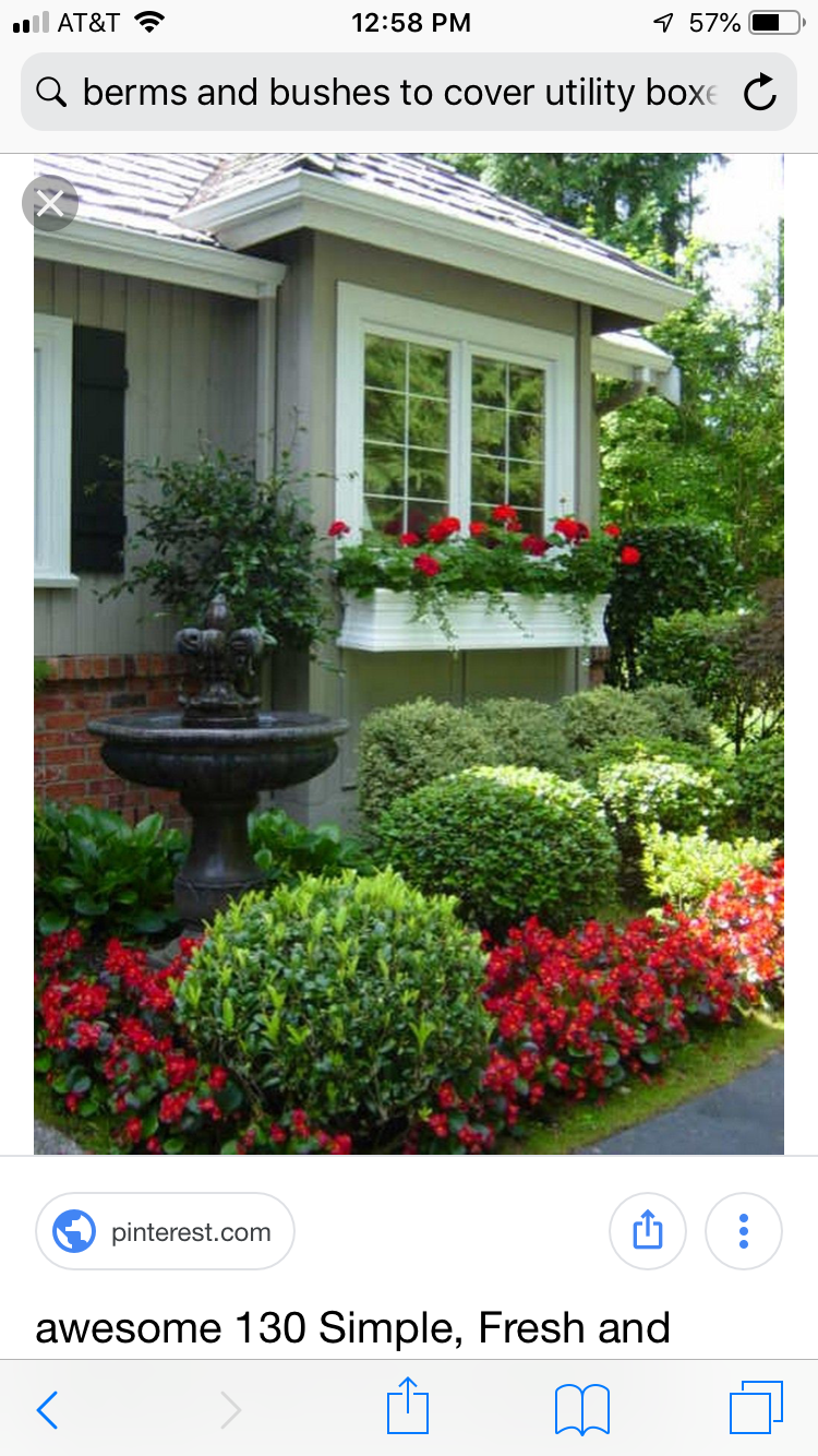 Low Maintenance Landscape Ideas Curb Appeal Window Boxes