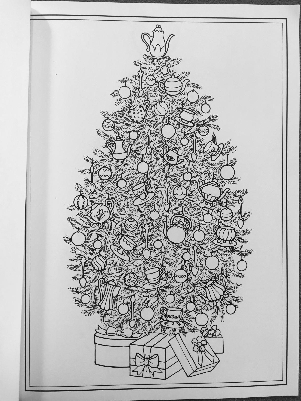 Jolly Christmas Coloring Books for Adults Coloring, Easy