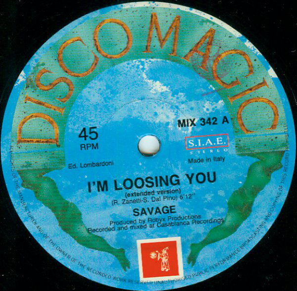 Savage I M Loosing You Vinyl 12 1988 In 2020