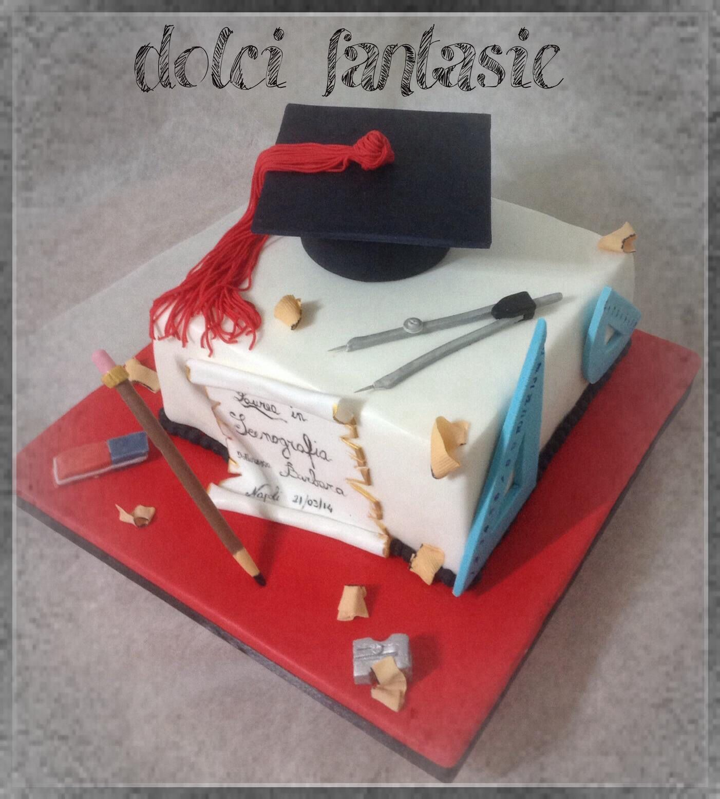 Torta di laurea  Torte lauree  Laurea Torte Design