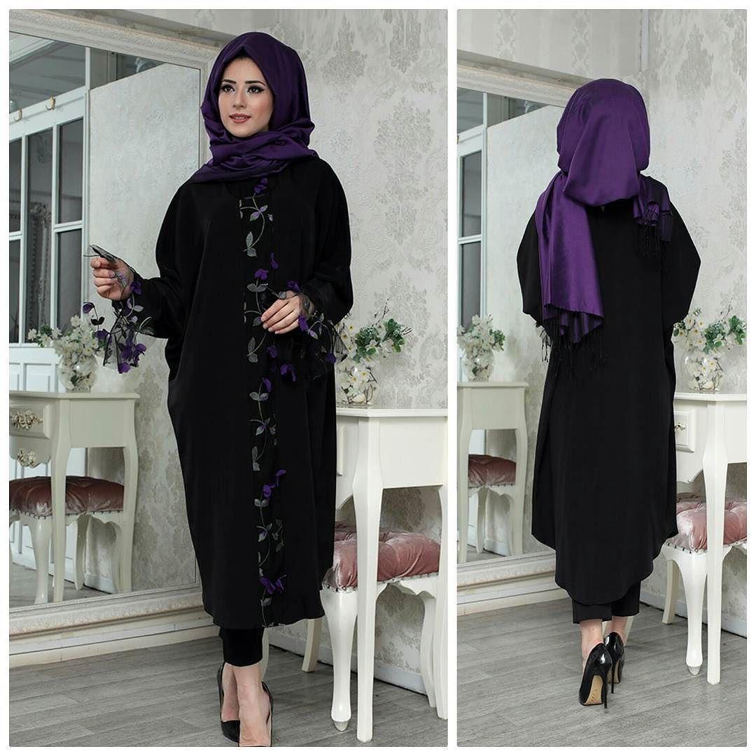 Elisa Uc Boyutlu Ferace Tunik 36 48 Beden Uyumlu Fiyat 1999 Tl Bayrama Ozel Indirimler Whatsapp Siparis 90 553 880 2010 Teset Fashion Hijab Instagram