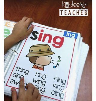 One of my favorite resources to use at small group. #teachersofinstagram #backtoschool #phonicspostersmegabundle #kadeenteaches.com #phonics #tpt #teacherspayteachers #teachersfollowteachers #teacherlife