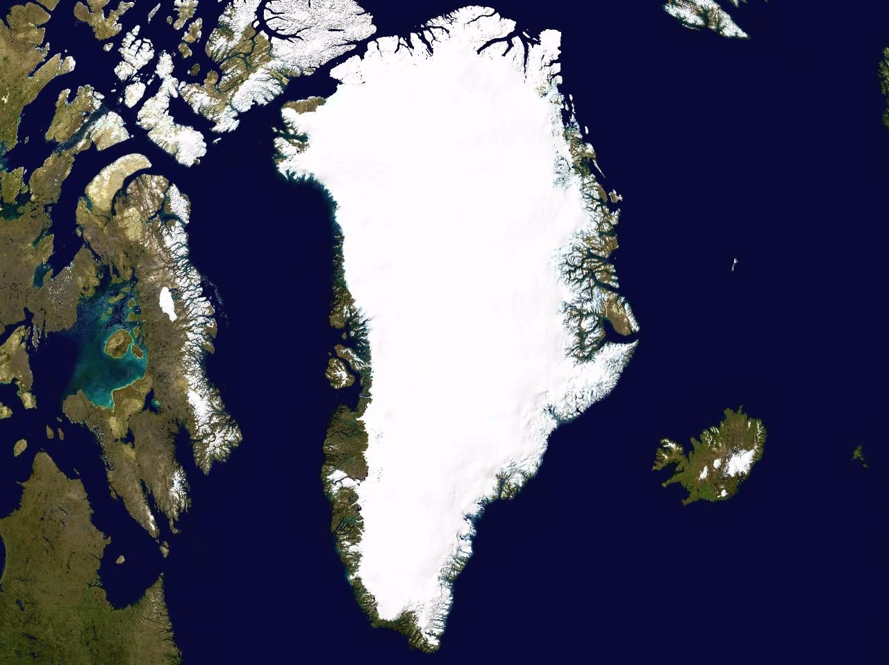 Satellite map of greenland maps pinterest explore the world map and more gumiabroncs Image collections
