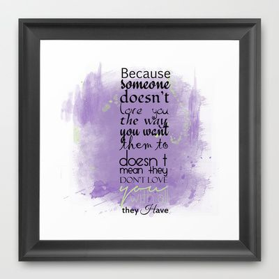 All I Have Framed Art Print by Art Works by BooSilva - $30.00